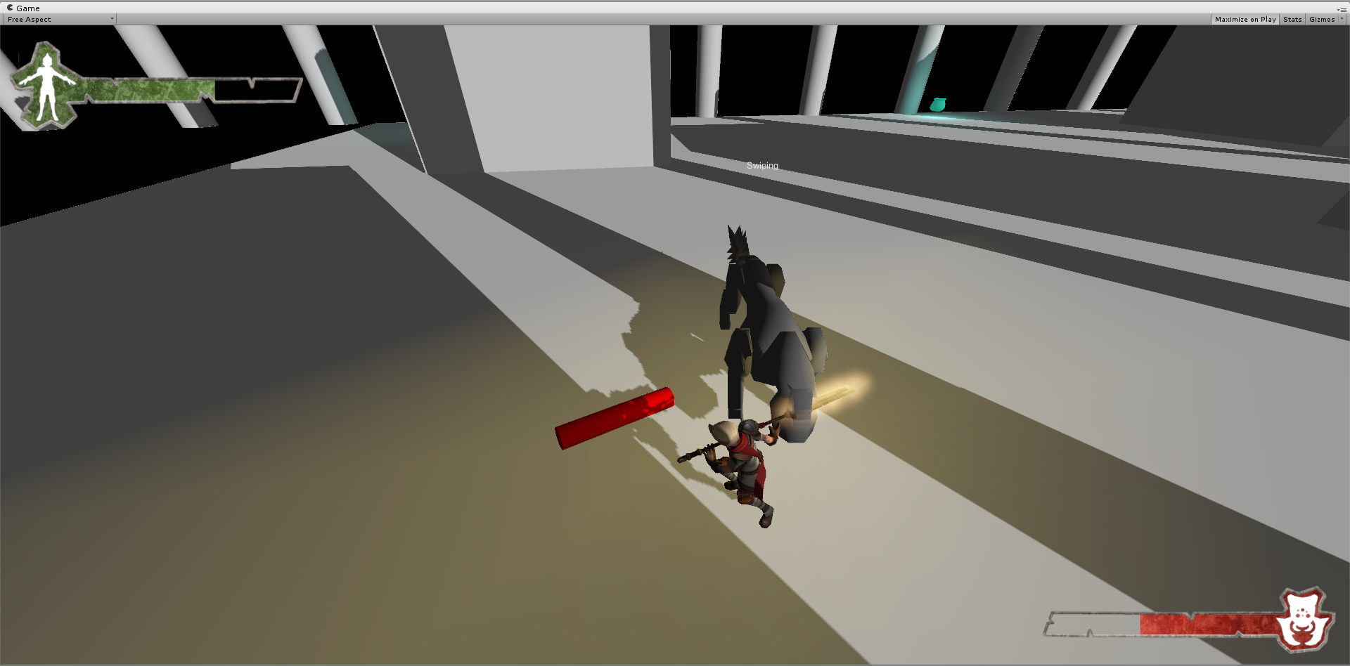 I liked the addition of the shadows, even just in the test dev scene.